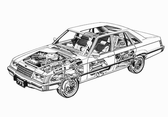 images of ford ltd sedan 1983 u201384