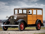 Ford Model B Station Wagon (150) 1932 pictures