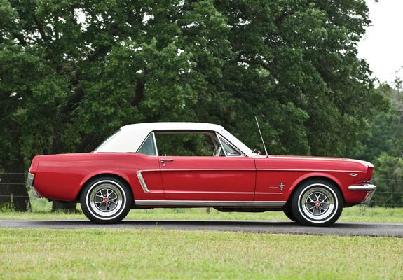 Mustang 260 Coupe 1964 Photos 640x480