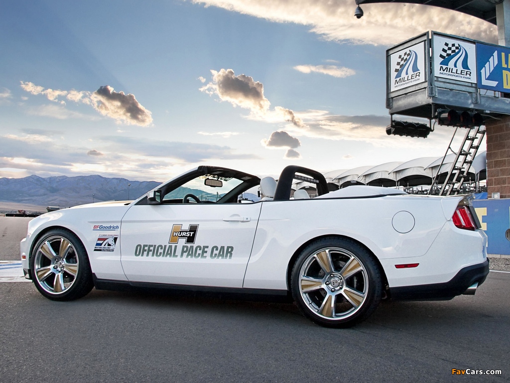 Wallpapers Of Hurst Mustang Convertible Pace Car 2009