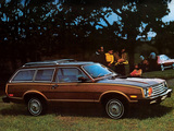 Photos of Ford Pinto Squire Wagon (73B) 1979–80