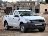 Ford Ranger Single Cab ZA-spec 2012 images
