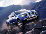 Ford Ranger Double Cab Limited UK-spec 2012 pictures
