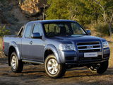Images of Ford Ranger Crew Cab ZA-spec 2007–09