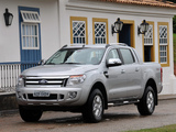 Pictures of Ford Ranger Double Cab Limited BR-spec 2012