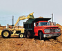 Wallpapers of Ford T-Series Tandem Dump Truck 1968