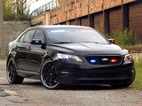 Stealth Ford Police Interceptor Sedan Concept 2010 images