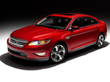 Pictures of Ford Taurus SHO 2009–11