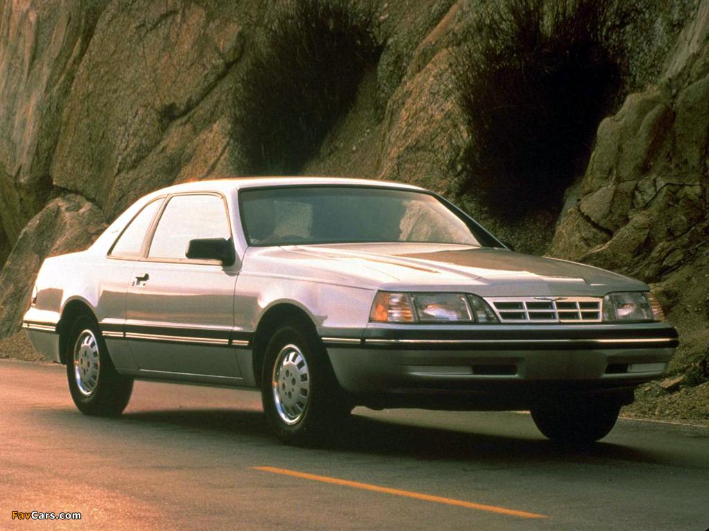 Ford Thunderbird 1987–88 photos (1024x768)