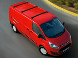 Images of Ford Transit Custom LWB 2012