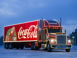 Freightliner Classic Coca-Cola Christmas Truck 2009 pictures