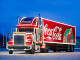 Wallpapers of Freightliner Classic Coca-Cola Christmas Truck 2009