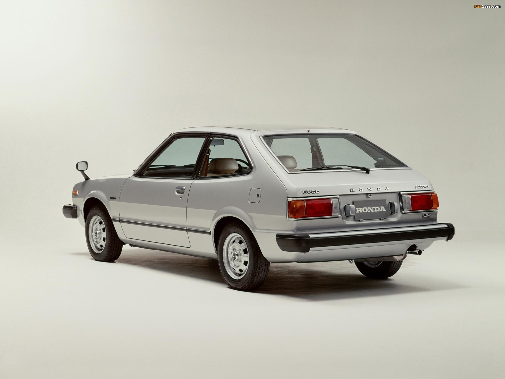 Honda Accord Hatchback 1976 81 Wallpapers 1920x1440