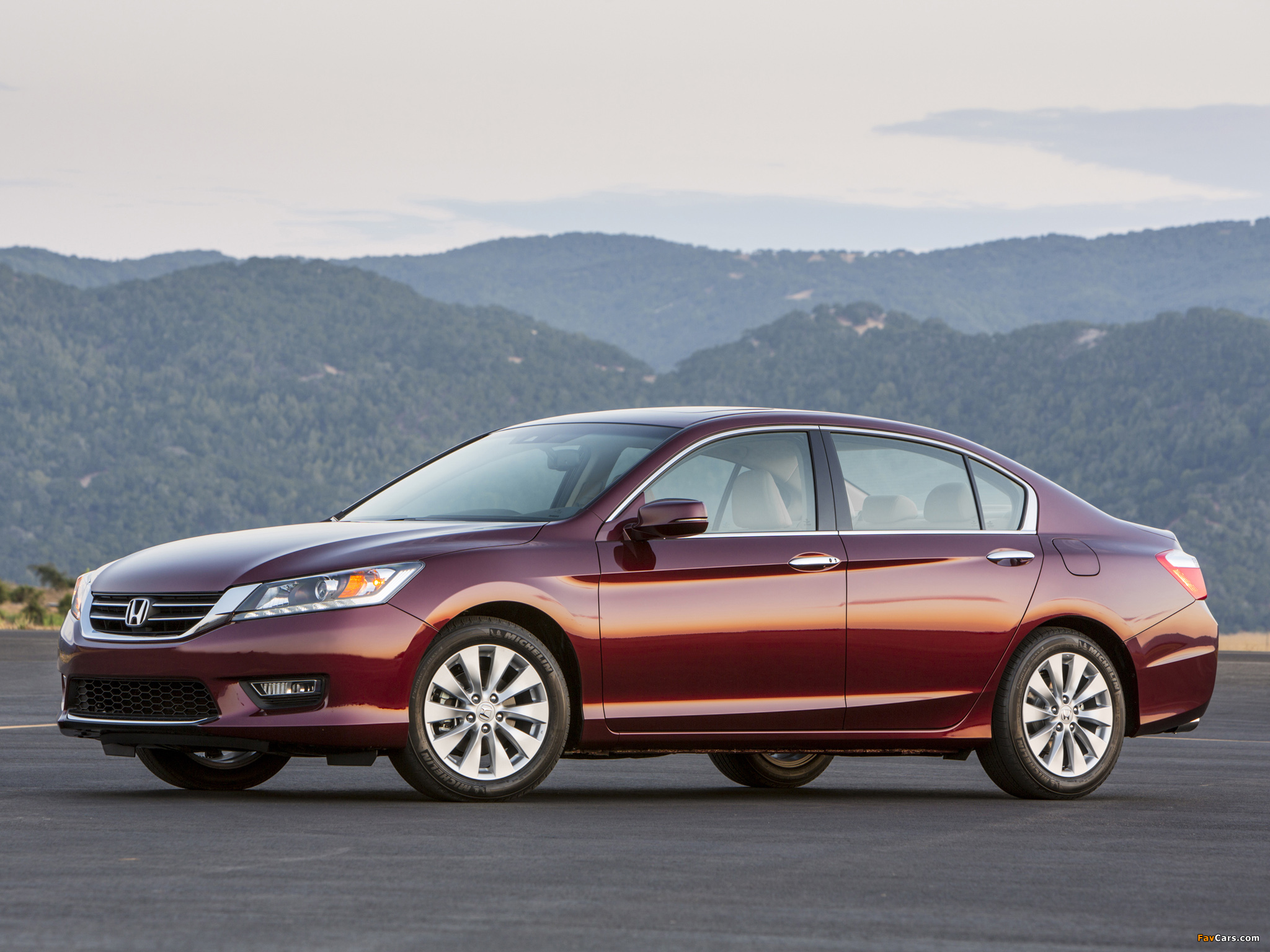 Honda Accord EX-L V6 Sedan 2012 wallpapers (2048 x 1536)