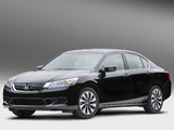 Honda Accord Hybrid US-spec 2013 photos