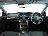 Pictures of Honda Accord Sedan AU-spec 2013