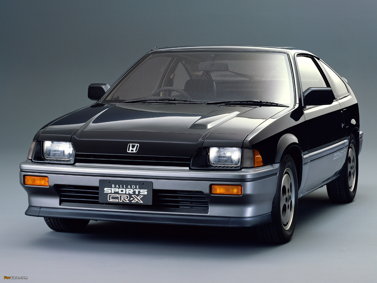 Honda Cr X >> Honda Ballade Sports CR-X 1983–87 wallpapers (1600x1200)