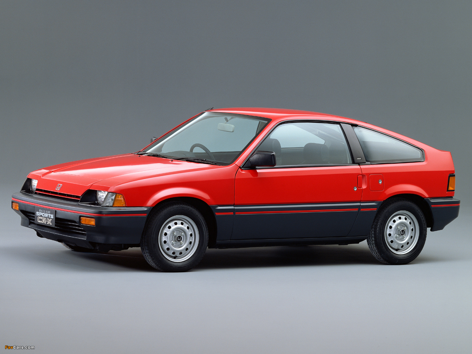 Honda Cr X >> Images of Honda Ballade Sports CR-X 1983–87 (1600x1200)