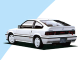 Wallpapers of Honda Ballade Sports CR-X F1 Special Edition 1986