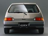 Honda City GG 1986–88 photos
