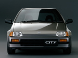 Honda City GG 1986–88 pictures
