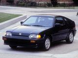 Honda Civic CRX Si 1986–87 pictures