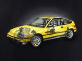 Honda Civic CRX 1988–91 pictures