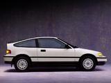 Images of Honda Civic CRX 1988–91