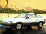 Photos of Honda Civic CRX 1986–87