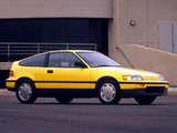 Photos of Honda Civic CRX 1988–91
