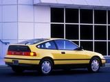 Pictures of Honda Civic CRX 1988–91
