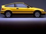 Wallpapers of Honda Civic CRX 1988–91