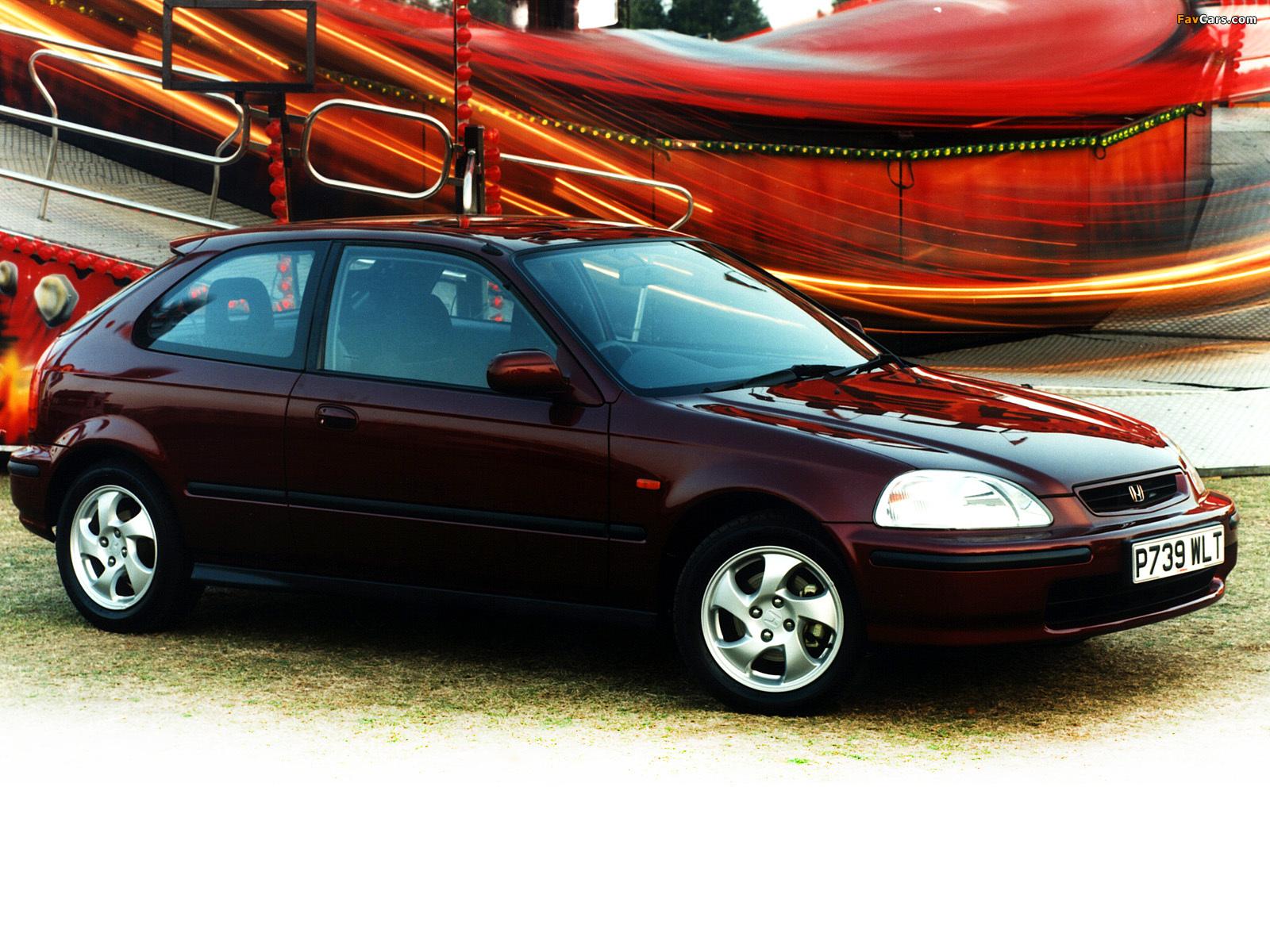 Honda Civic Hatchback 2001 Honda civic hatchback uk-spec