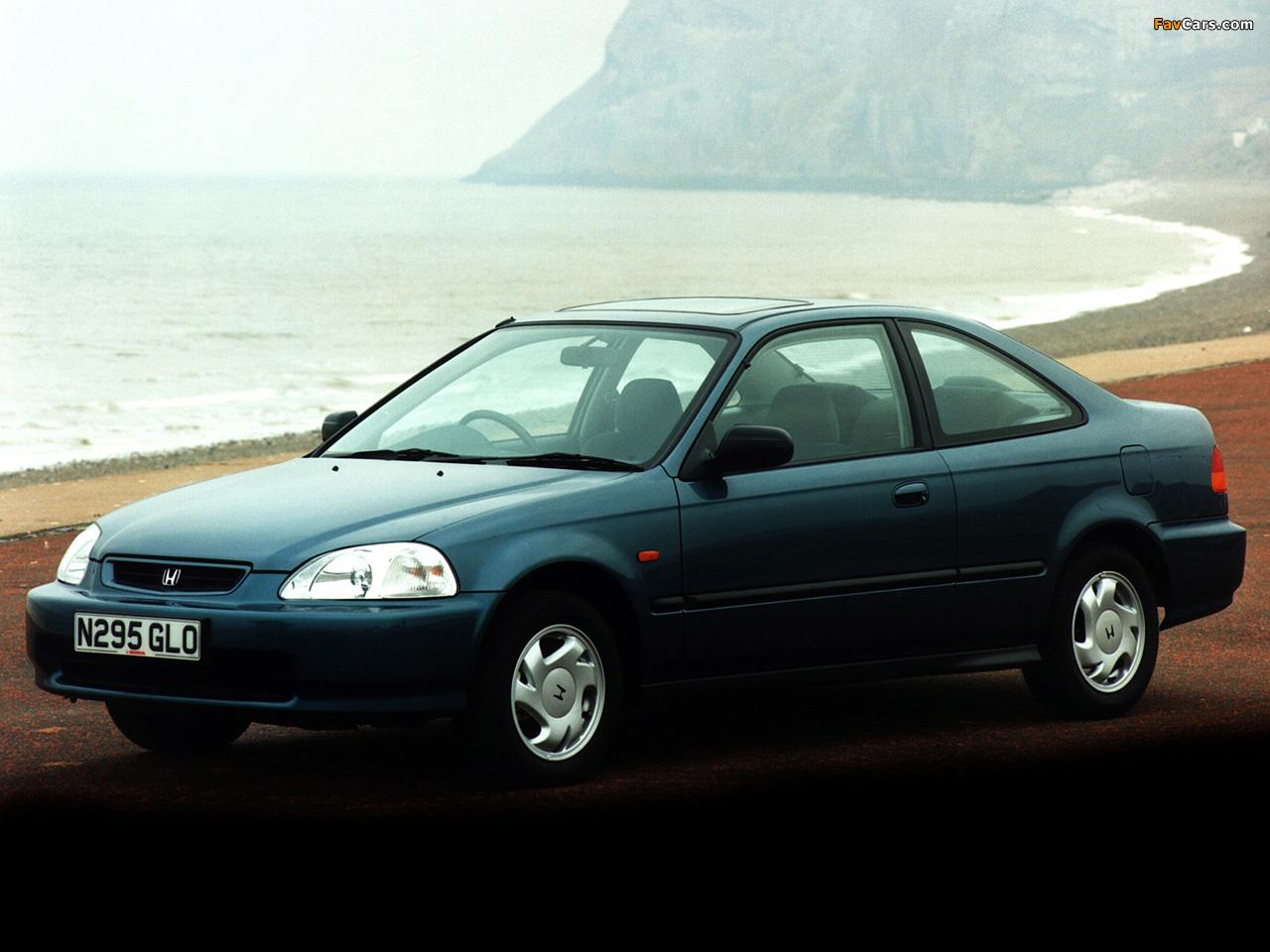Honda Civic Coupe UK-spec (EJ7) 1996–2000 images (1280x960)