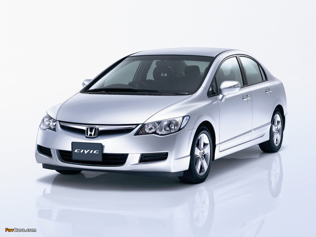 Honda Civic Sedan Jp Spec Fd 2006 08 Photos 1024x768