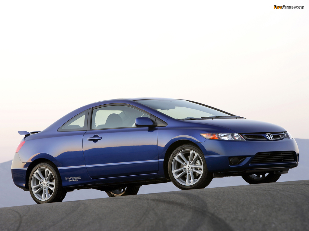 Honda Civic Si >> Honda Civic Si Coupe 2006–08 pictures (1024x768)