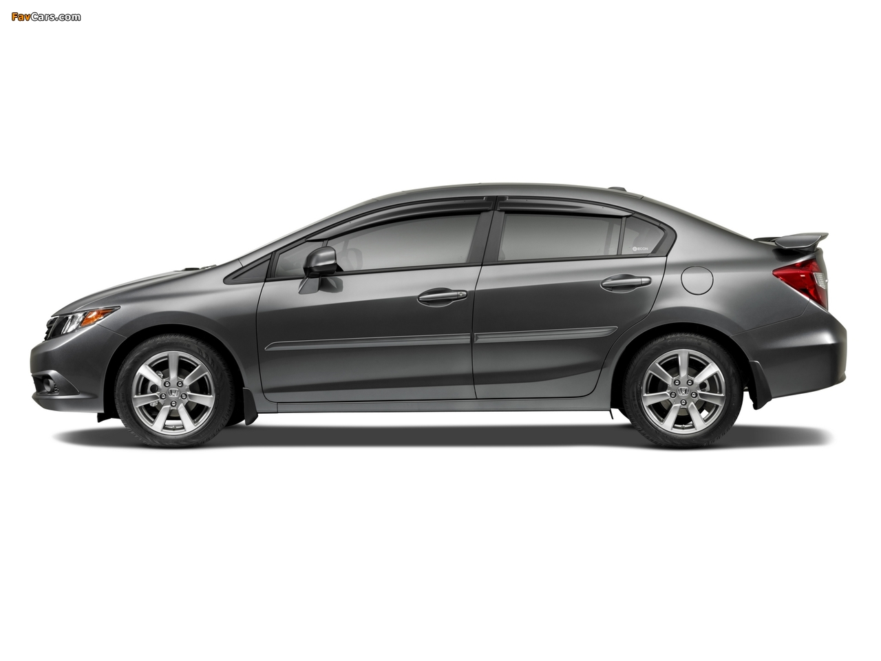 Honda Civic Si Sedan With Honda Genuine Accessories 2011