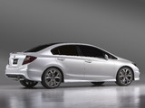 Honda Civic Sedan Concept 2011 photos