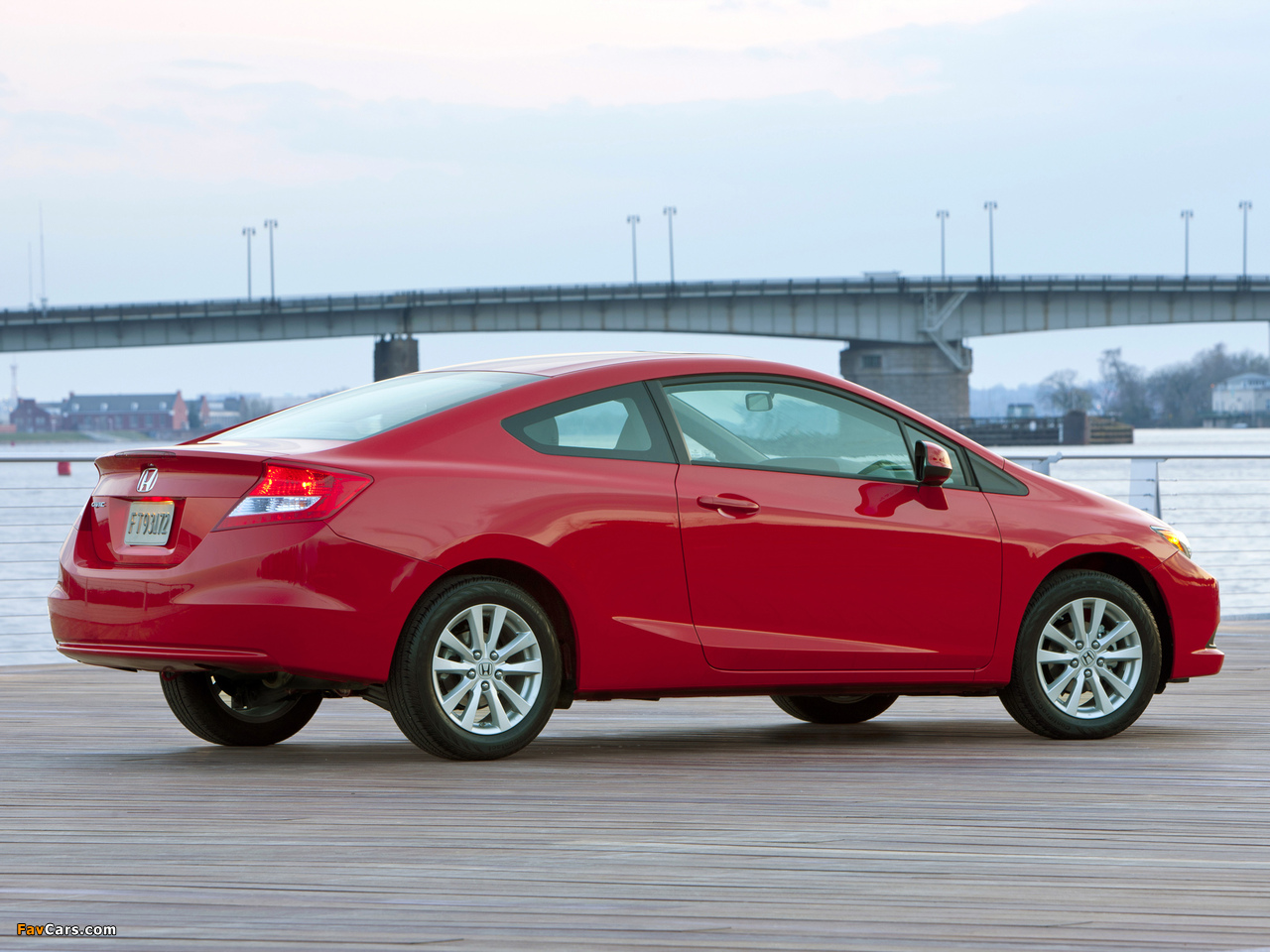 Honda Civic Coupe Us Spec 2011 12 Wallpapers 1280x960