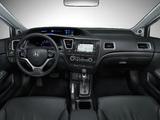 Honda Civic Sedan US-spec 2013 wallpapers
