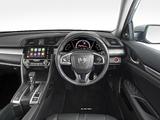 Honda Civic Sedan RS AU-spec 2016 pictures