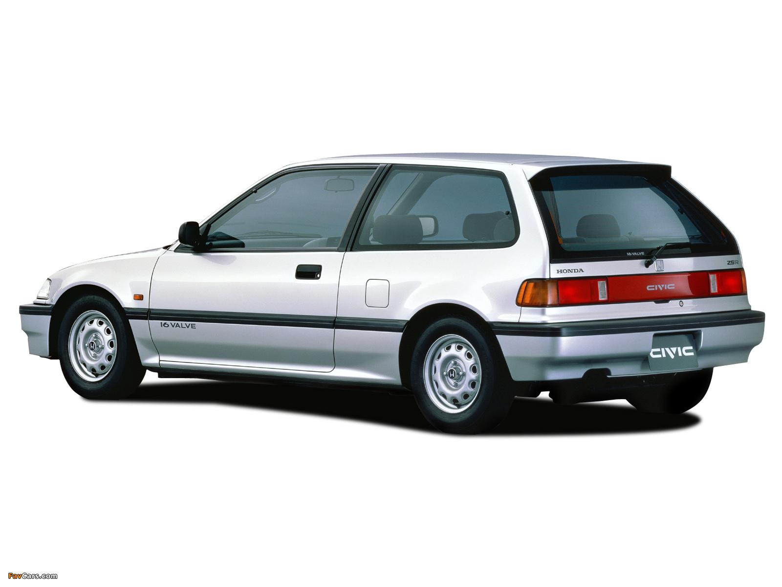 Photos of honda civic hatchback ef 1988 91 1600x1200 for Honda civic 1988