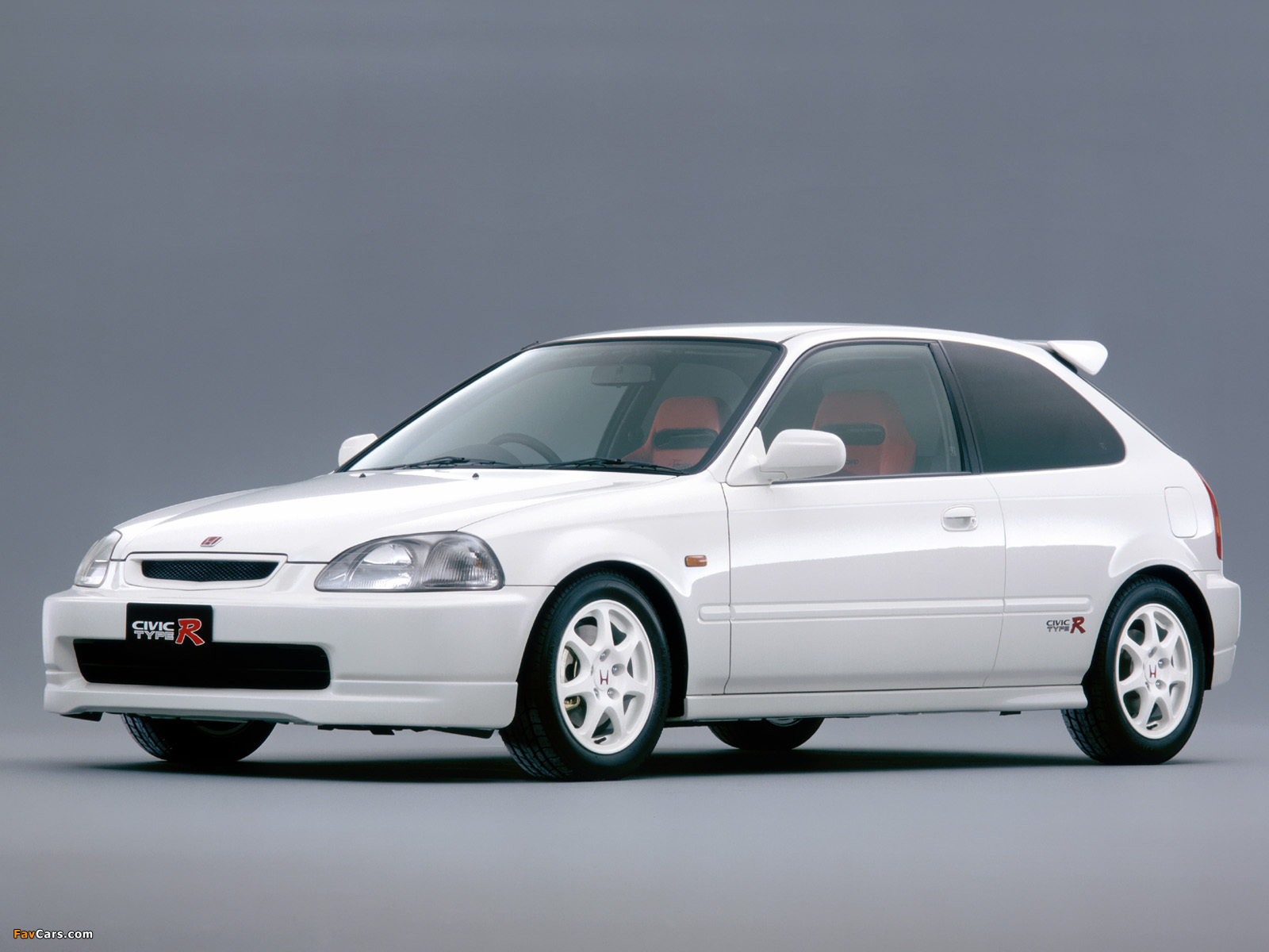wallpapers of honda civic type r ek9 1997 2000 1600x1200