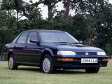 Honda Concerto Sedan UK-spec (MA) 1988–92 photos