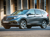 Honda CR-V UK-spec (RM) 2012 wallpapers