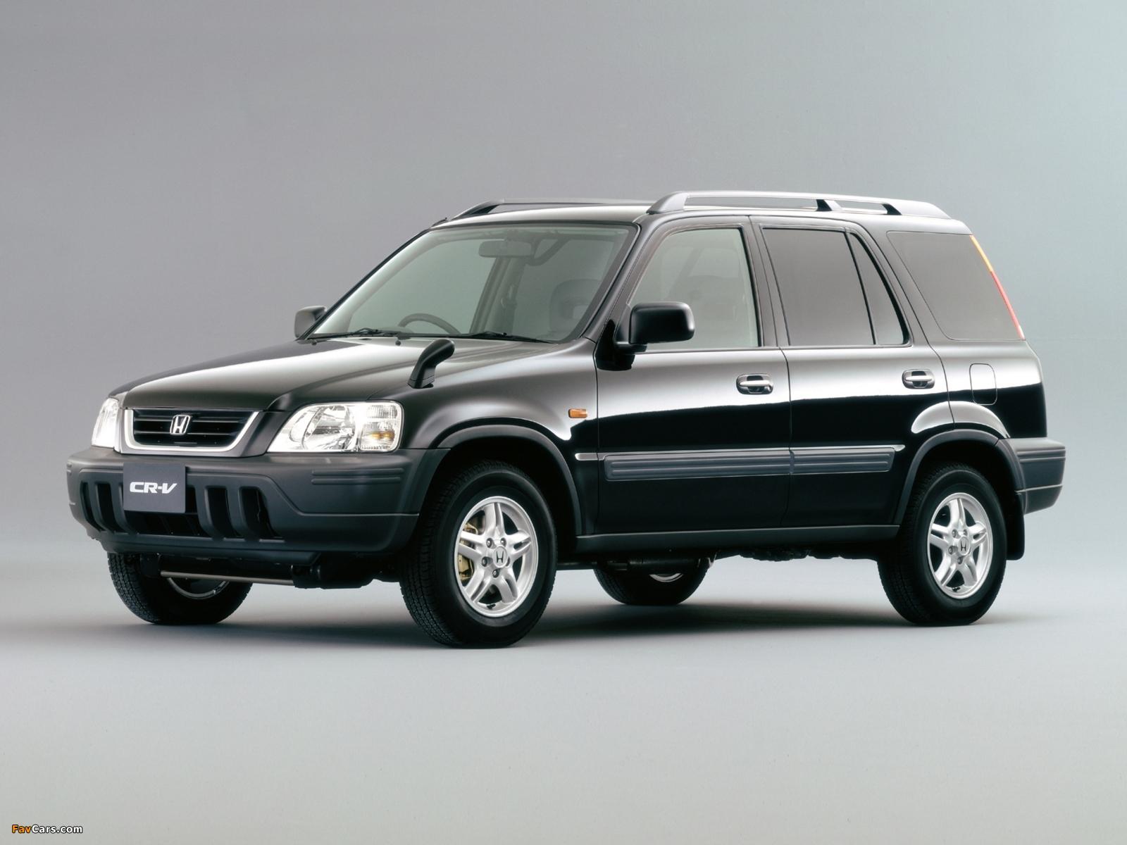 Images Of Honda Cr V Jp Spec Rd1 1995 99 1600x1200