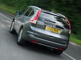 Photos of Honda CR-V UK-spec (RM) 2012