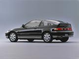 Honda CR-X 1.5X Limited Edition II (EF6) 1990 images