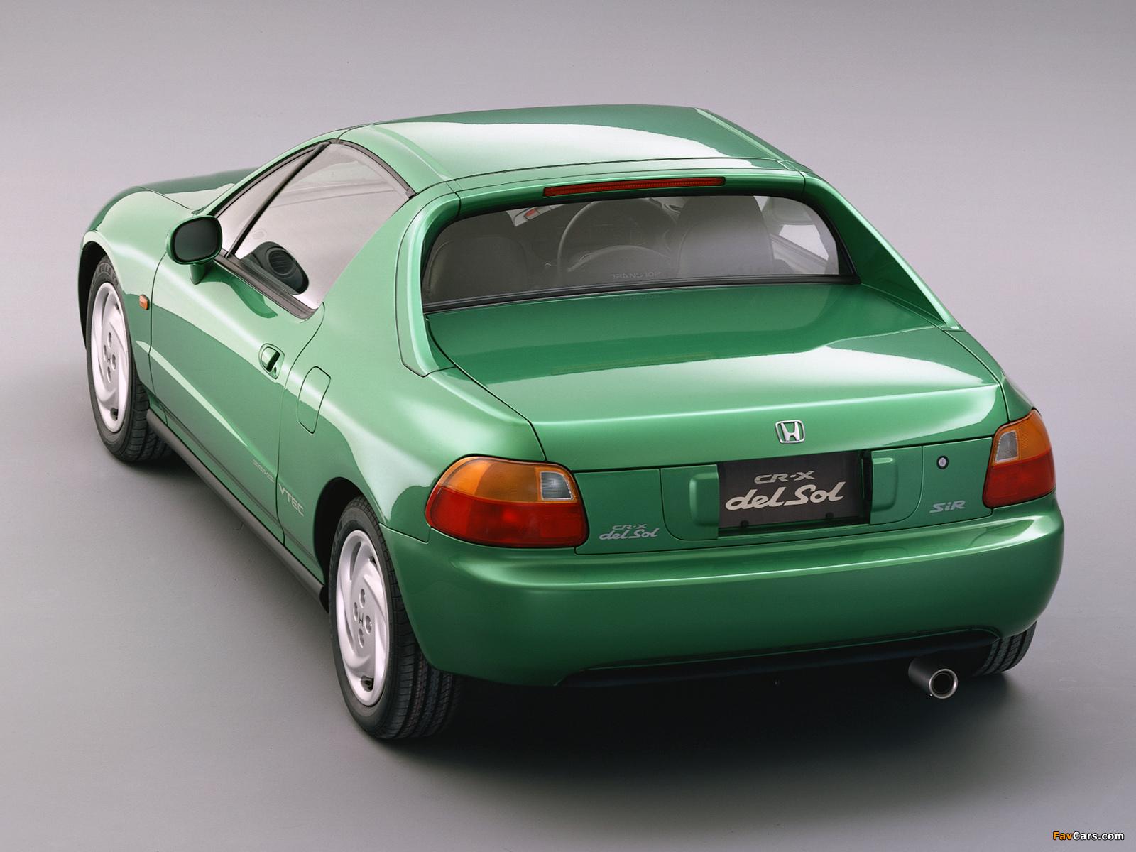 Honda Cr X >> Images of Honda CR-X del Sol SiR (EG2) 1992–98 (1600x1200)