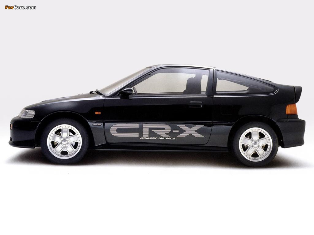 Honda Cr X >> Photos of Mugen Honda CR-X Si PRO.2 (EF7) 1989–91 (1024x768)